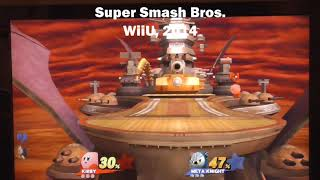 Super Smash Bros Stage Comparison: Halberd