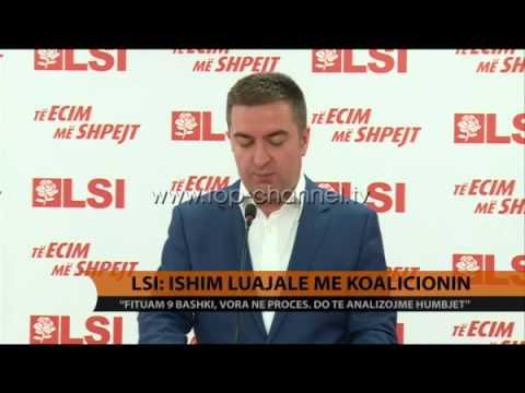 LSI: Ishim luajale me koalicionin - Top Channel Albania - News - Lajme