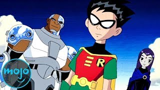 TOP 10 TEEN TITANS