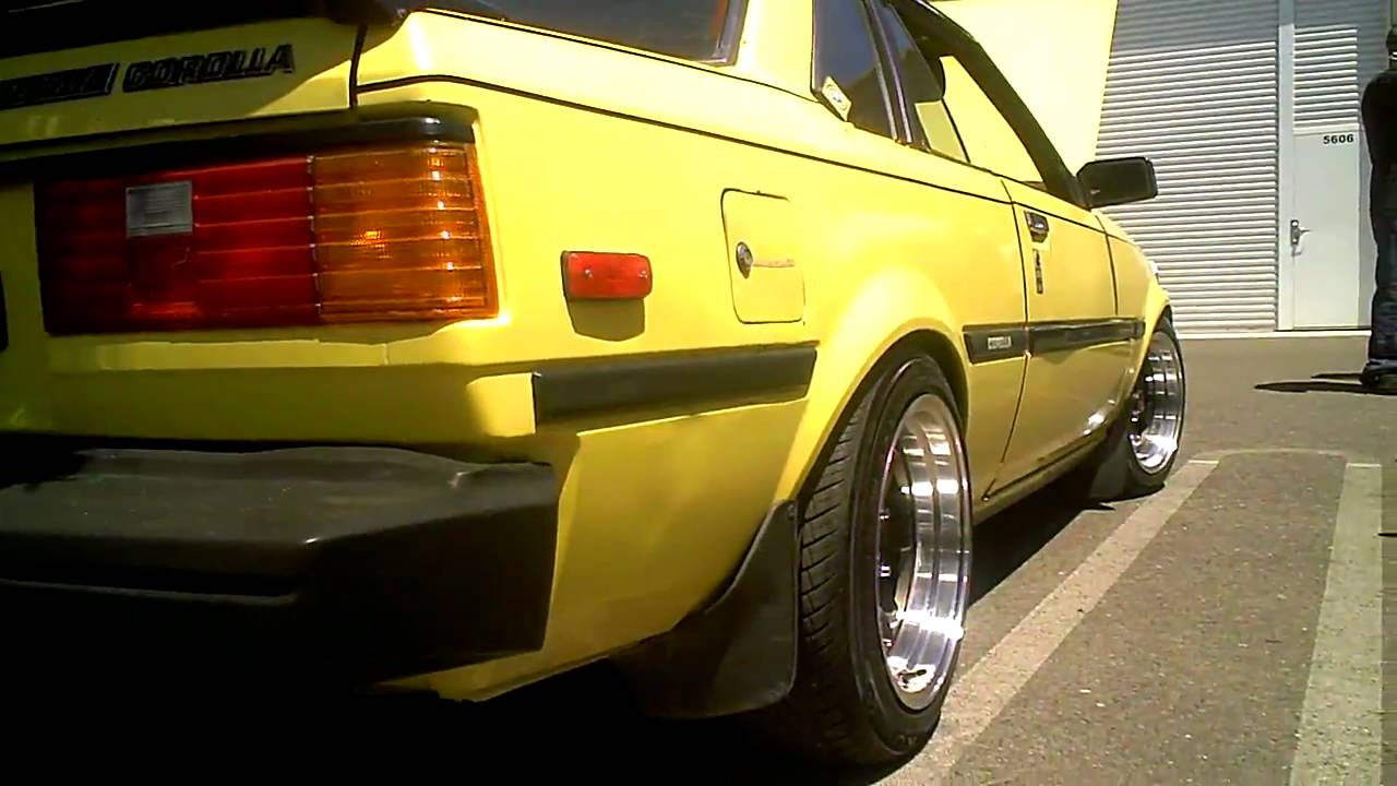 Eric S 1982 Toyota Corolla Sr5 Youtube
