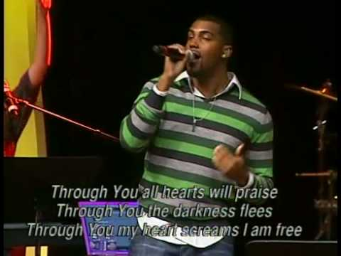 Fusion Band Leading worship at Victory World Church. Edited by Nathan Williams.
