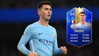 FIFA 19 - TOTS LAPORTE (94) PLAYER REVIEW
