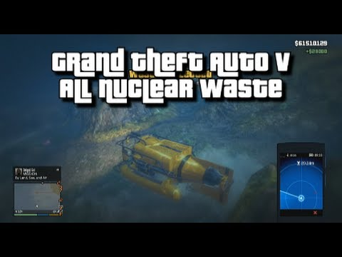 GTA V - All Nuclear Waste - 100% Collectibles Guide - Waste Management Achievement/Trophy