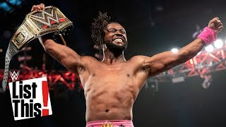 4 records set by Kofi Kingston: WWE List This!