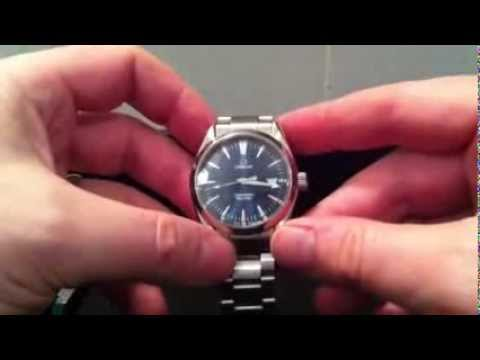 Omega Seamaster battery change