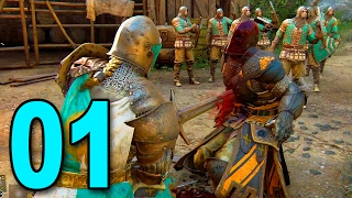 For Honor - Part 1 - THIS. GAME. IS. BRUTAL.