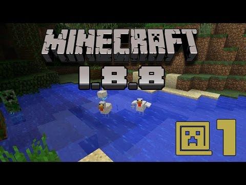 Minecraft 1.8.8 #1 - Начало начал