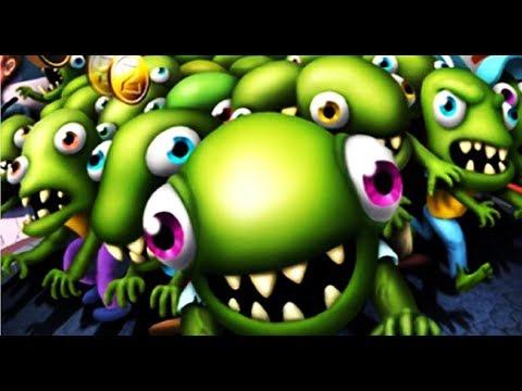 Zombie Tsunami #4 Игровой мультик для детей про зомби, веселый детский мультик игра для малышей