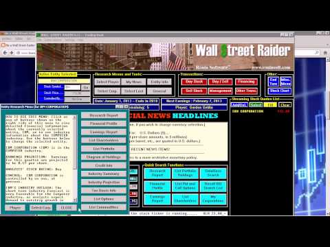 Wall Street Raider Stock Market Simulation best stock market game BE A WALL STREET RAIDER!