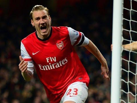 Nicklas Bendtner's 47 Goals For Arsenal