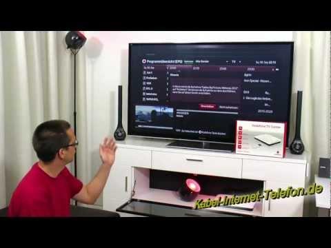 Vodafone TV (IPTV) Testbericht - Praxistest Des Vodafone TV Center Mit IP-TV