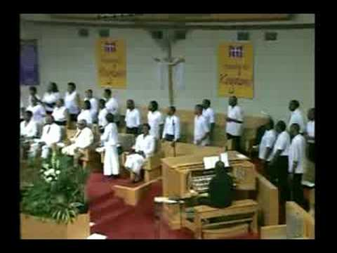 Metropolitan Baptist Church Music Ministry with Jason Powell on piano. July 26,2008.