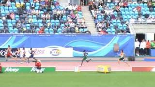 IAAF World Junior Championships Moncton 2010 - 4x400m men finale