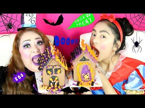 Halloween House Challenge|Halloween Fun|B2cutecupcakes