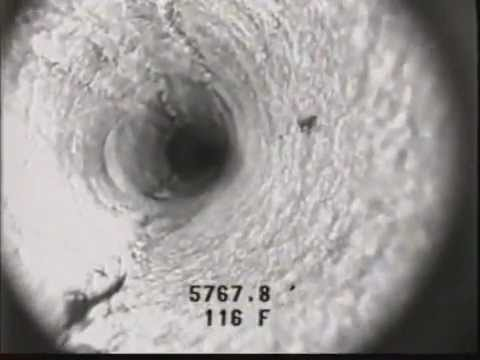 Oil Well Downhole Camera Video (2/2)