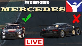 iRacing Territorio Mercedes (Mercedes AMG GT3 @ Spa)