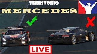 iRacing Territorio Mercedes (Mercedes AMG GT3 @ Spa)