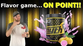 Drink this workout supplement!   Myth Labs BCAA review Pink Lemonade flavor