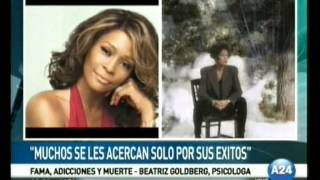 Whitney Houston - Fama y Adicciones - Beatriz Goldberg - America 24