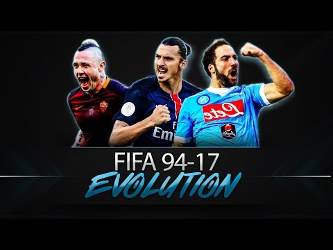 История серии игр FIFA 94 - 17 | FIFA EVOLUTION - FIFA 94 - 17