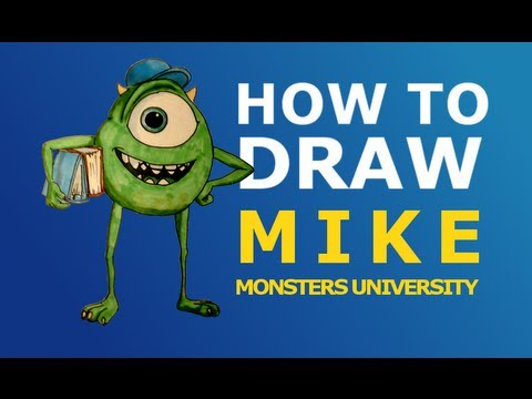 Mike Wazowski Drawing How to Draw Easy Mike Wazowski
