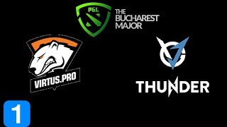 VP vs VGJ Thunder Game 1 Grand Final PGL BUCHAREST MAJOR 2018 Highlights Dota 2