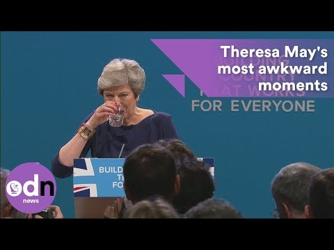 Theresa May's top 5 most awkward moments