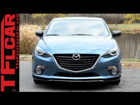 2015 Mazda3 Review: Putting The Zoom Zoom In A Small Compact Car video