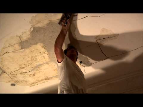 Lath and Plaster Water Damaged Ceiling Repairs Glen Iris Melbourne
