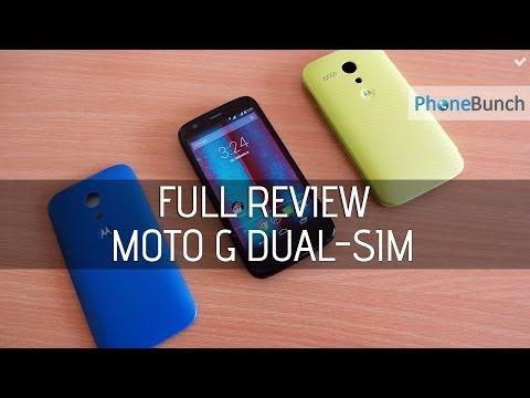 Moto G Dual SIM India Full Review