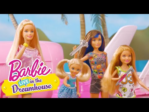 Jet Uçağı Yapma | Barbie LIVE! In The Dreamhouse | Barbie