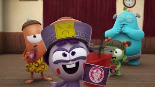 Download lagu Kebi creates a gum trap - can they get out? | Spookiz Cookie | Kids Cartoons