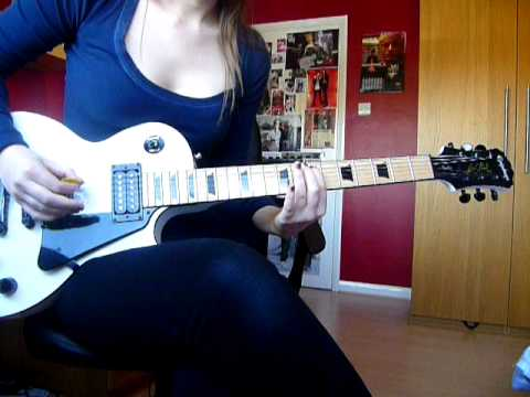 Warmness on the Soul Solo- Avenged Sevenfold Guitar Cover