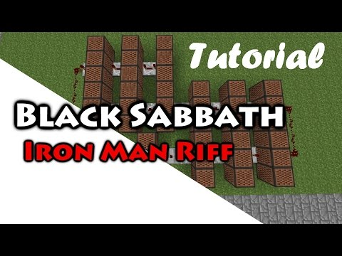 Black Sabbath - iron man note