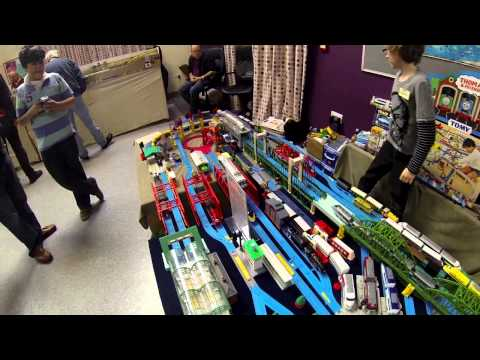 Tomy Trains Plarail at Hinckley Model Railway Show October 2014