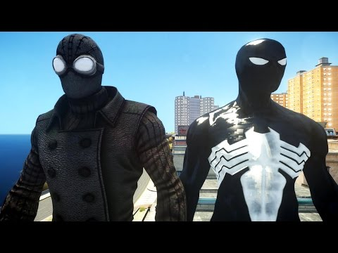 Spider-man (noir) Vs Black Spiderman video