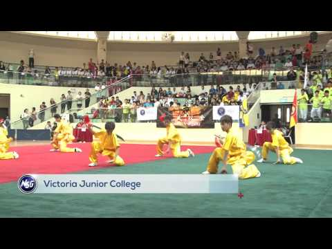 Victoria Junior College sweeps all A Division Wushu titles