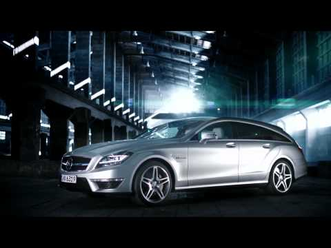 Промо-видео Mercedes CLS 63 AMG Shooting Brake: Great POWER !!!!