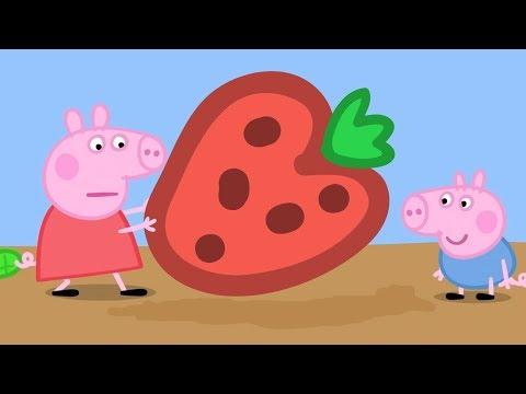 Peppa Pig Świnka Peppa po Polsku | Peppa i OGROMNA Truskawka | Bajki Po Polsku