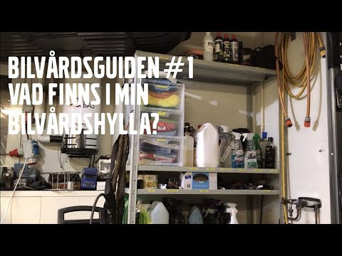 BILVÅRDSGUIDEN DEL 1 #VILKA PRODUKTER JAG ANVÄNDER