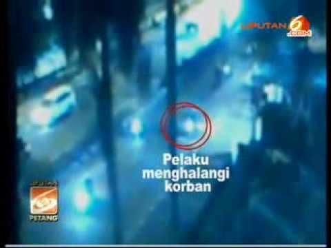 Rekaman CCTV Penembakan Polisi Aipda Sukardi