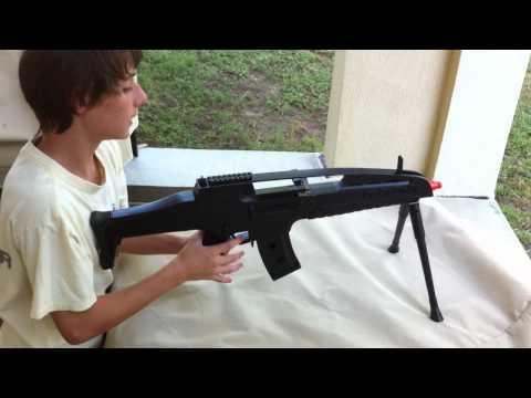 JLS-M8 XM8 Spring airsoft gun review