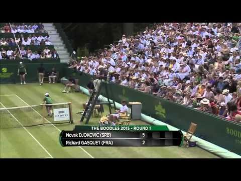 Novak Djokovic (SRB) v Richard Gasquet (FRA)