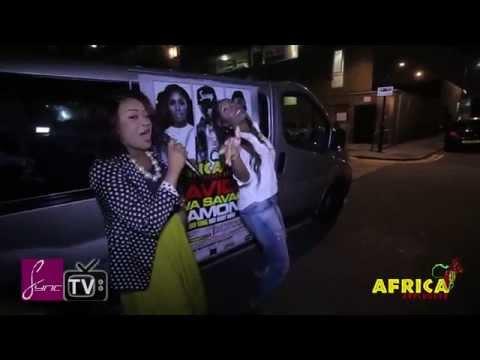 Tiwa Savage Exclusively UNPLUGGING London. She dances SHOKI
