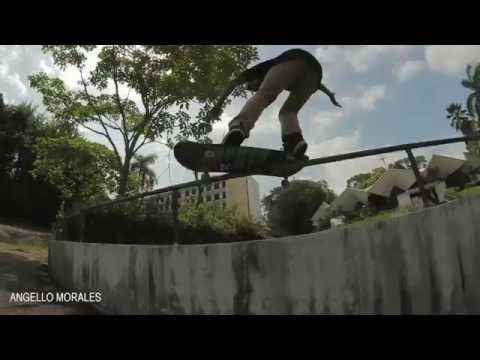Angello Morales - Skateboarding Panama