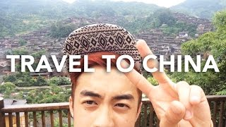 TRAVEL TO CHINA - Miao Ethnic Villages (Hmoob Suav), Waterfalls, & Mountains