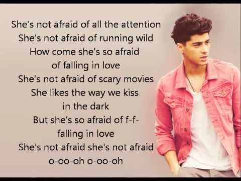 One Direction - She's Not Afraid lyrics