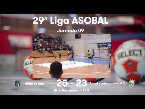 LIGA ASOBAL J09: Bidasoa Irún - Ángel Ximénez - Avia P.G. 25-23