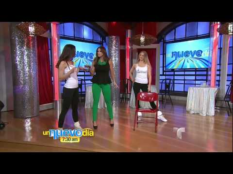 Rashel Diaz - Chair Dancing 2013/02/08 Un Nuevo Dia HD