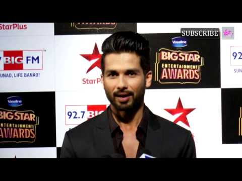 Big Star Entertainment Awards 2014 | Shahid Kapoor